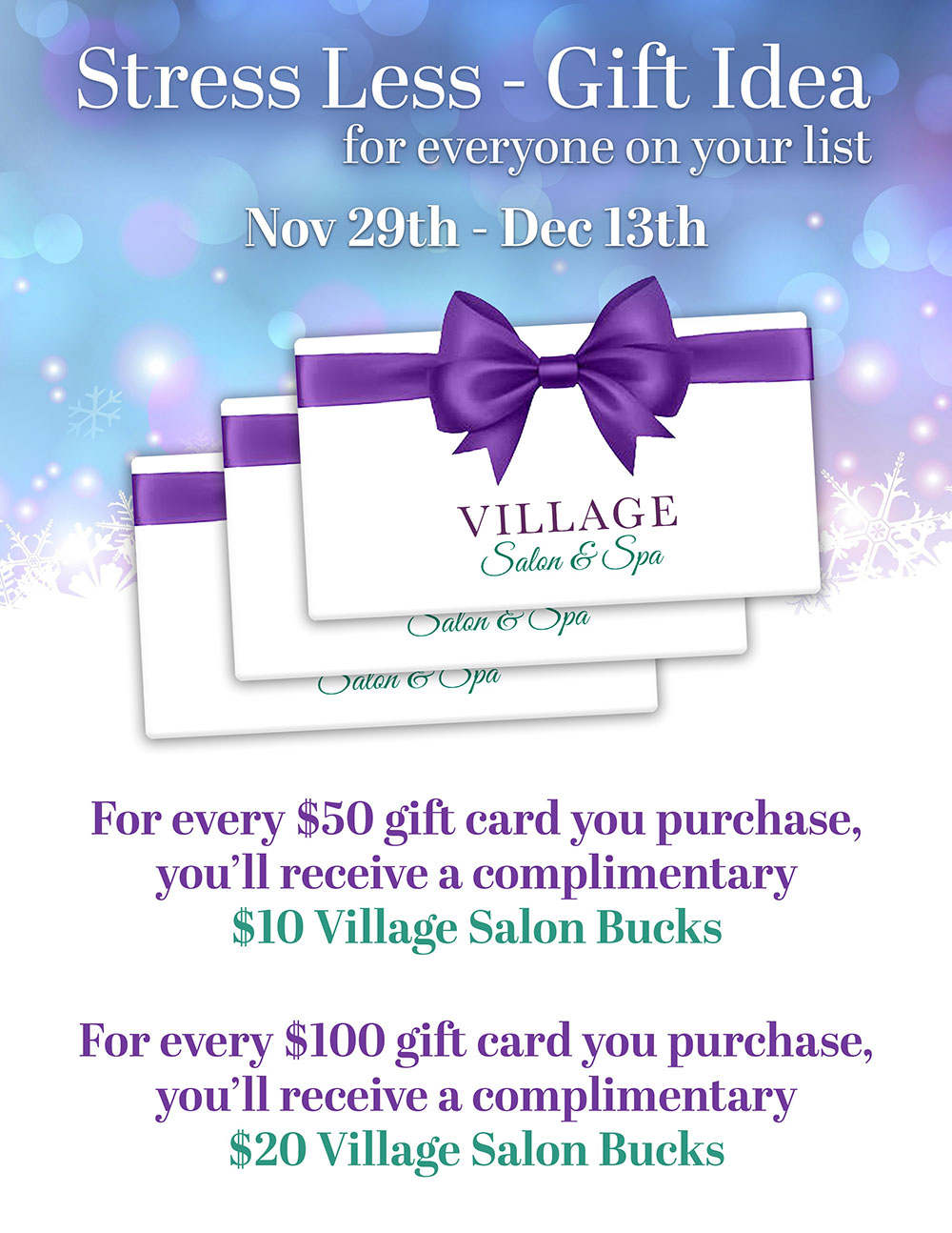 Village-Stress-Less-Gift-Idea-Holiday-Gift-Card